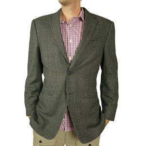 Jos A Bank Traveler Mens Sport Coat Blazer Size 40